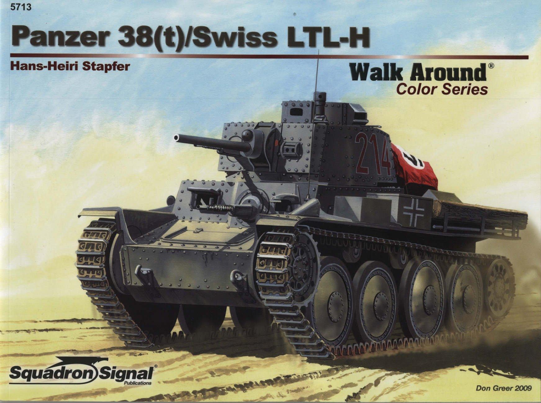 Panzer 38(t) / Swiss LTL-H - Armor Walk Around Color Series