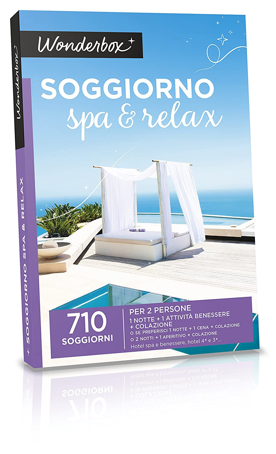 WONDERBOX - COFANETTO REGALO - SOGGIORNO SPA & RELAX: Amazon.it ...
