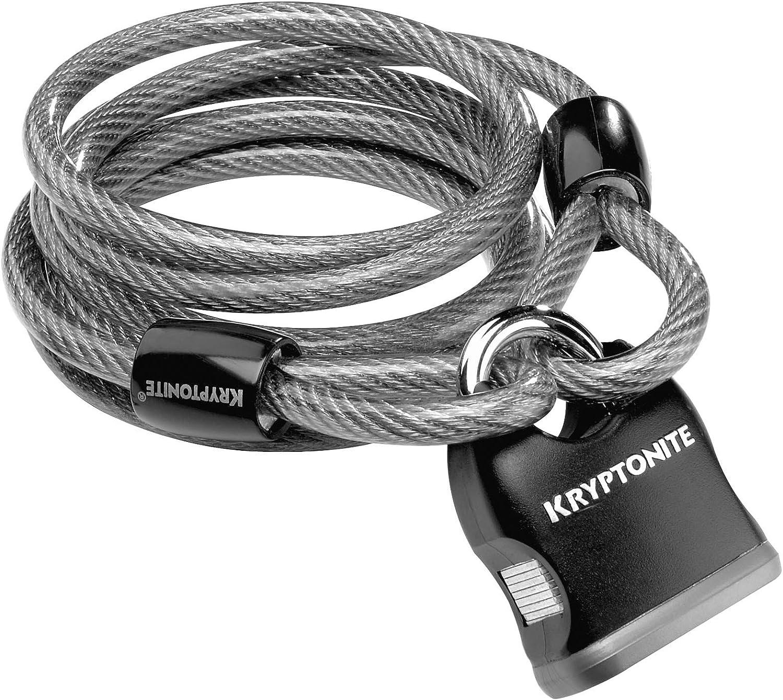 Kryptonite KryptoFlex 818 5 ft Cable and Padlock 2-pack