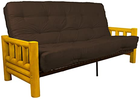 Charmant Rocky Mountain 10 Inch Loft Inner Spring Futon Sofa Sleeper Bed, Queen Size