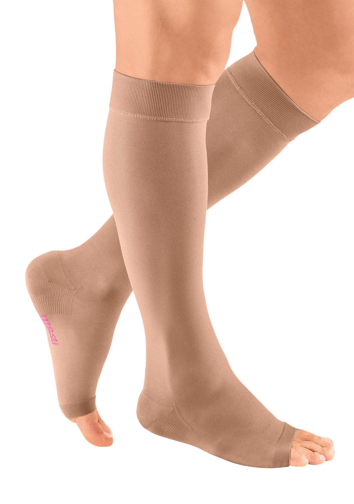 mediven Plus, 40-50 mmHg, Calf High Compression Stocking, Open Toe