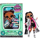 LOL Surprise OMG Dance Dance Dance B-Gurl Fashion Doll with 15 Surprises Including Magic Black Light, Shoes, Hair Brush…