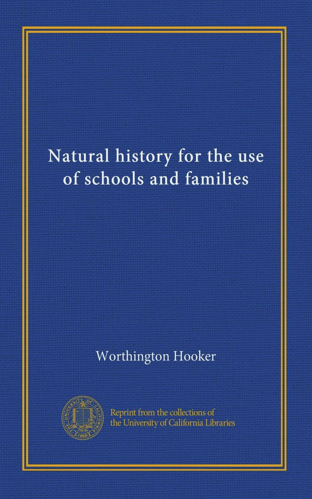 Download Natural history for the use of schools and families PDF