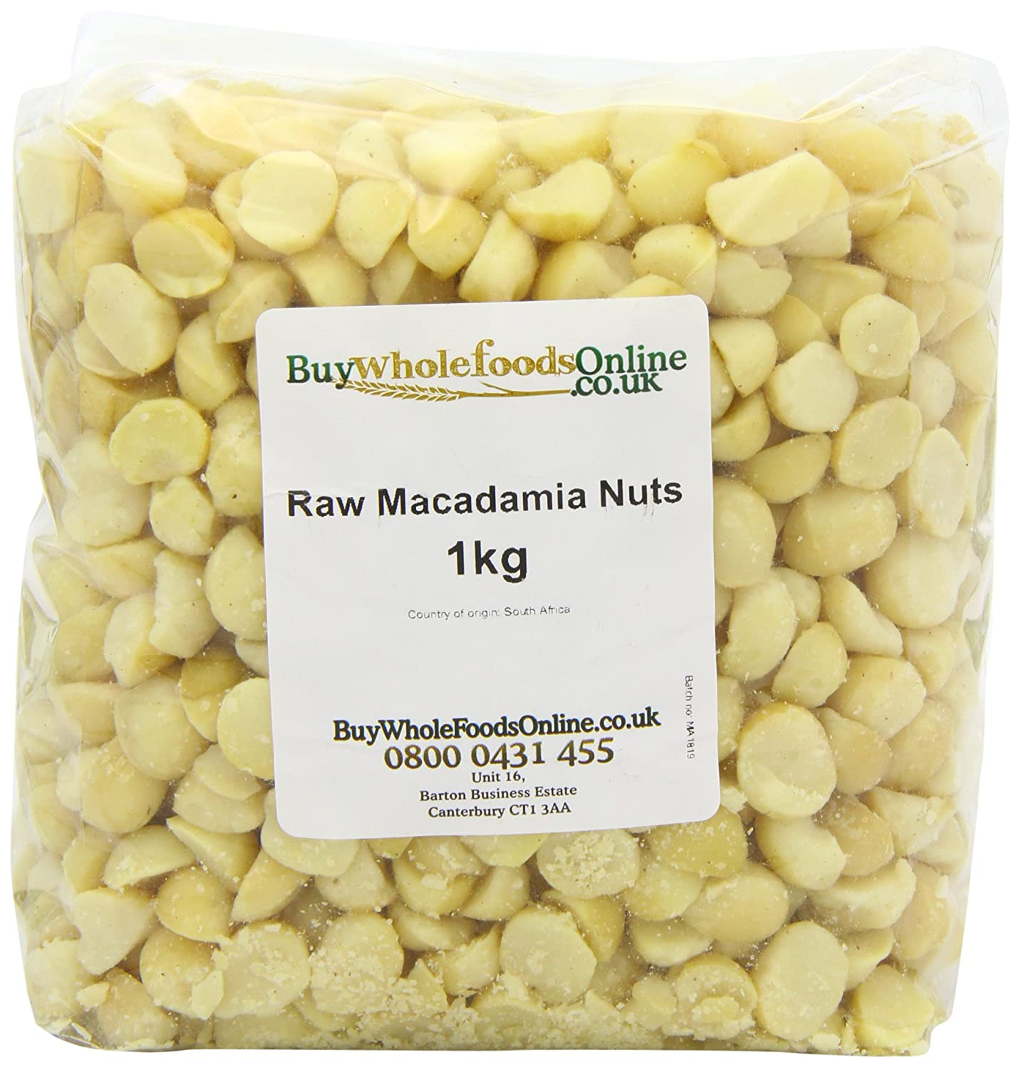 Buy Whole Foods Online Macadamia Nuts Whole Raw, 1 Kg
