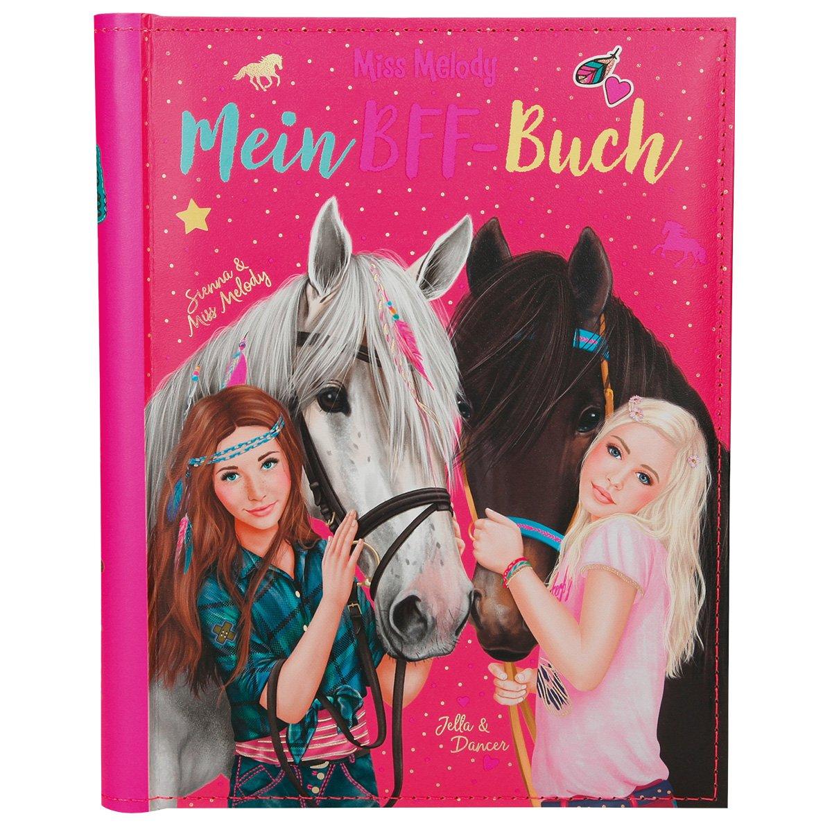 Miss Melody 6373.001Meilleure Amie Livre avec Paillettes Cover