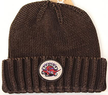 2baacdbf7df Image Unavailable. Image not available for. Color  Mitchell   Ness Toronto  Raptors NBA Hardwood Classics Ribbed Cuff Knit Hat