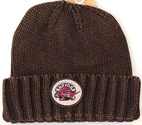 59dcb9a7148 Toronto Raptors Mitchell   Ness NBA Hardwood Classics Ribbed Cuff Knit Hat   Amazon.ca  Shoes   Handbags