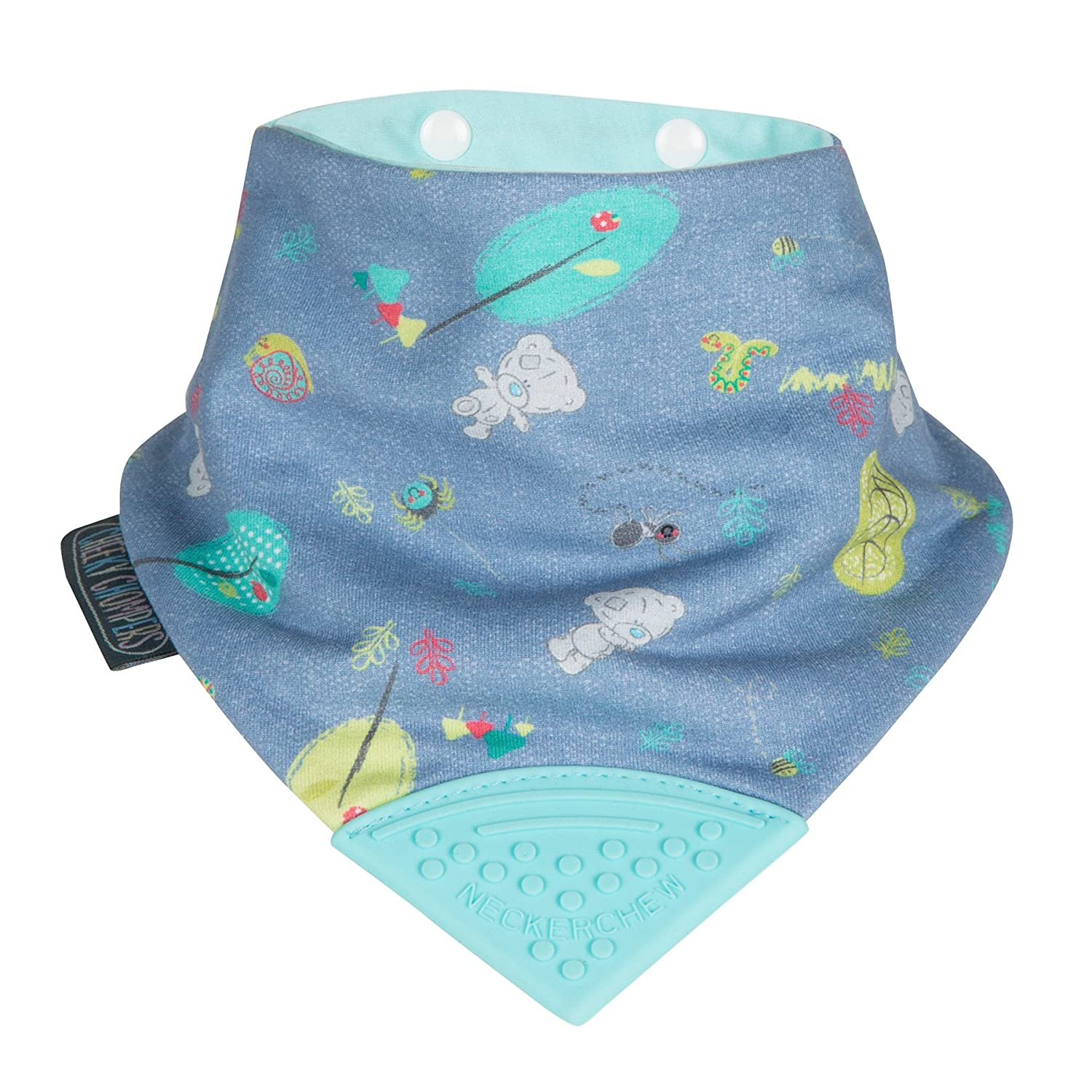 Cheeky Chompers CC025 Neckerchew Bib, Blue/denim 710852