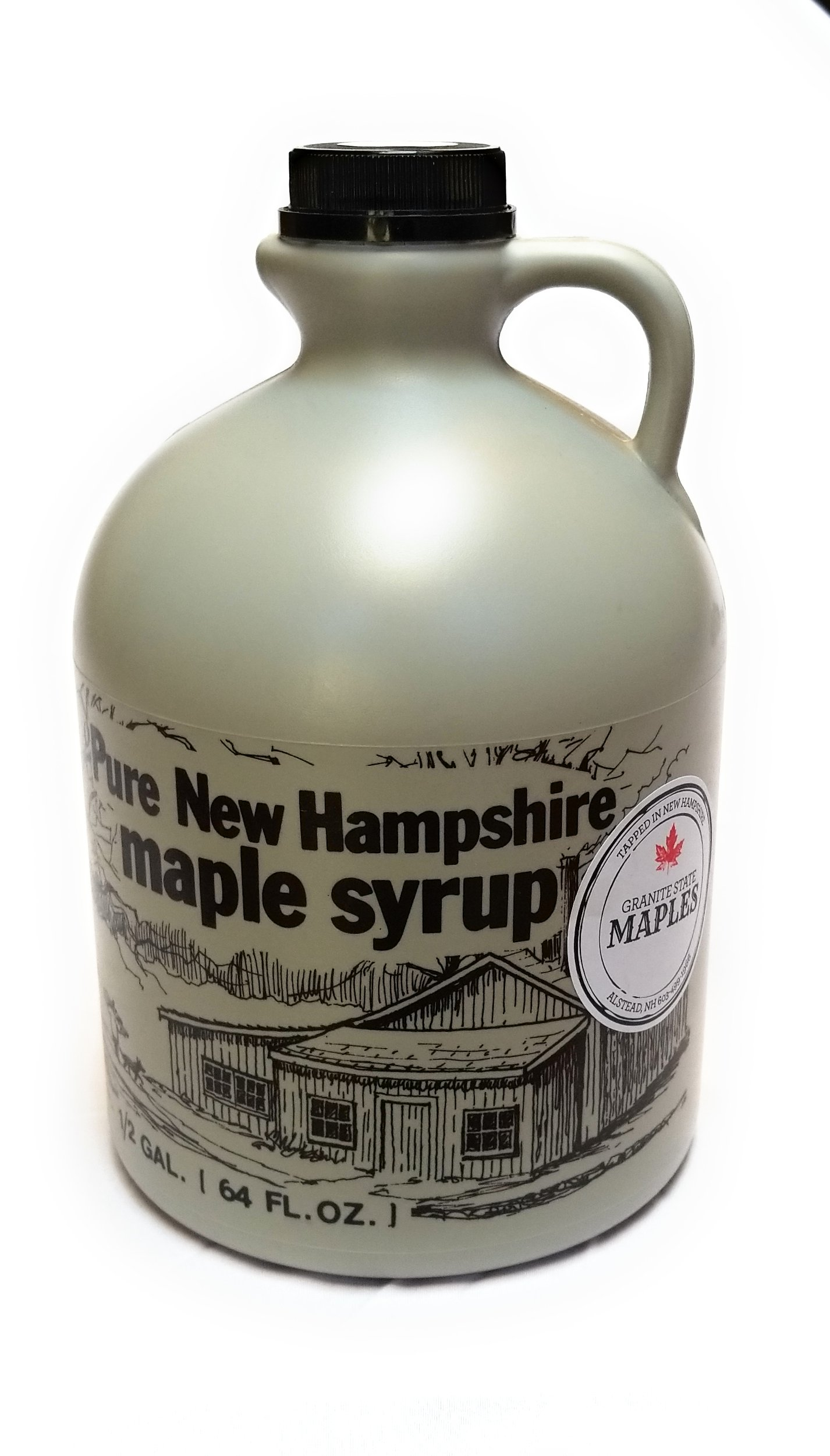 Granite State Maples 128Fl Oz.(1 Gallon) Pure New Hampshire Maple Syrup, Grade A