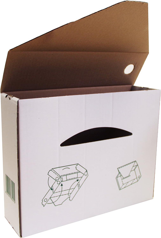 Elba 100580279 - Caja de 50 cajas archivo definitivo, cartón ...