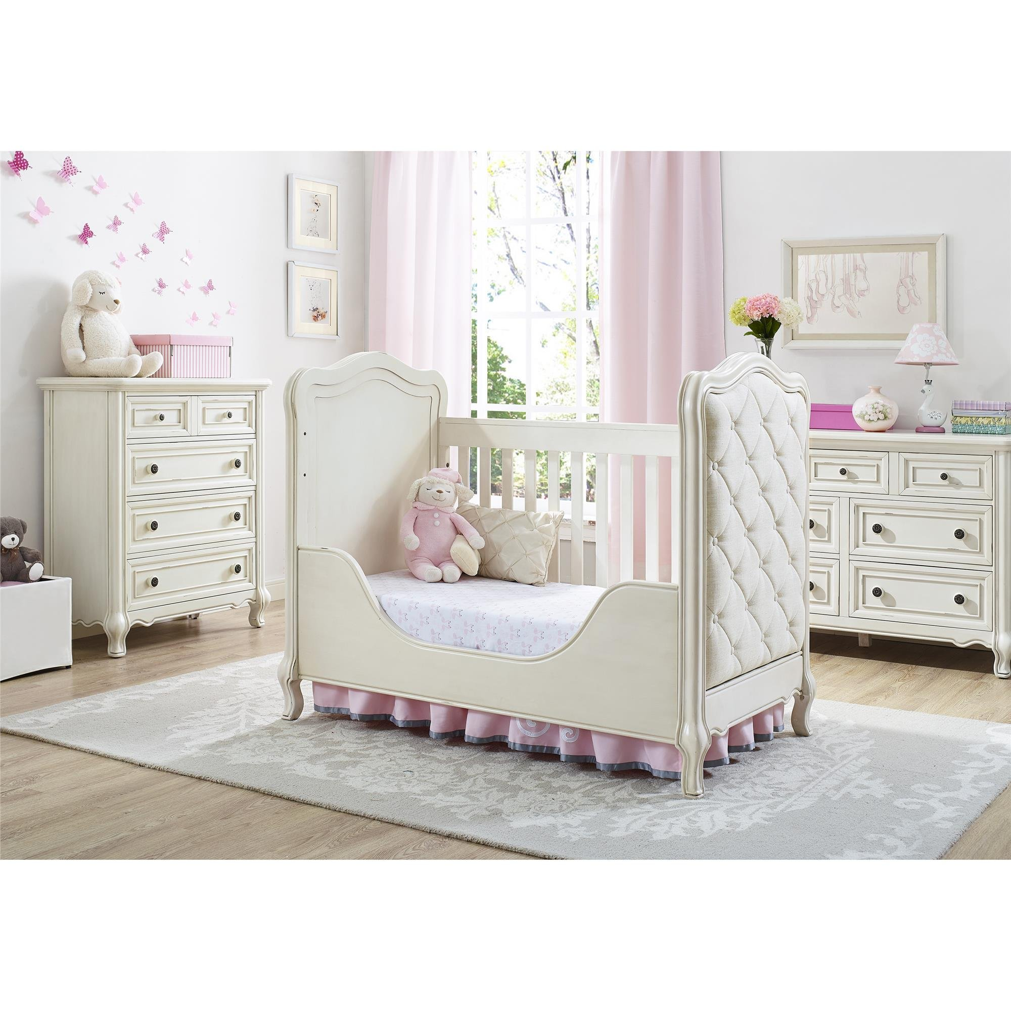 Baby Knightly 7-Drawer Dresser, Antique White by Baby Knightly (Image #2)
