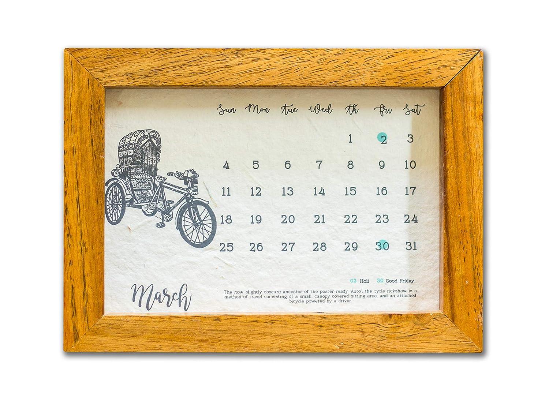 21 Fools Kyaari - A Plantable Seed Paper Calendar: Amazon in