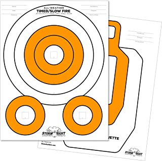 """product image for Rite in the Rain All Weather Close Range Shooting Targets, 8.5"""" x 11"""", 2 Sided, 25 Pack (No. TG8511CR)"""