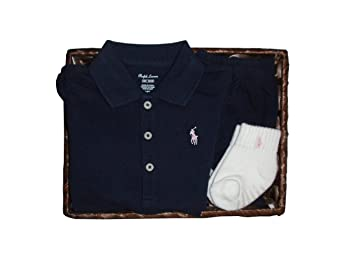 acff2a1047d93 ラルフローレンの子供服 [POLO RALPHLAUREN] ベビー ギフトセット(半袖) 女の子