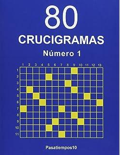 80 Crucigramas - N. 1 (Volume 1) (Spanish Edition)