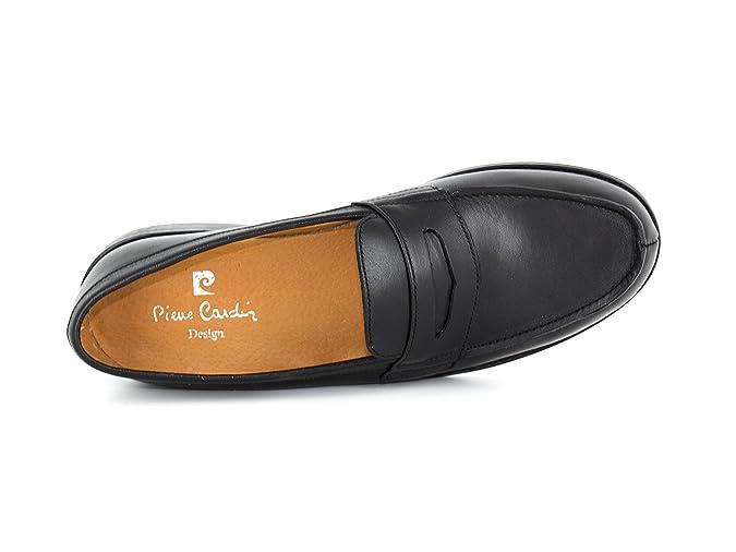PIERRE CARDIN Chaussures Mocassins PC1605ED Noir - Couleur - Noir UFdut0w911
