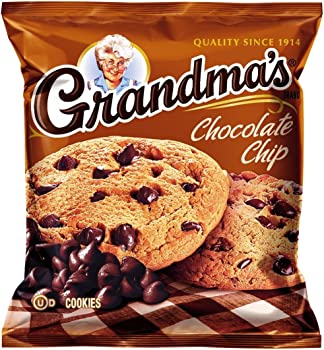 60-Pack Grandmas 2.5 Ounce Chocolate Chip Cookies