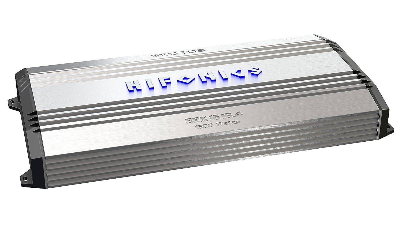 1500-Watt Hifonics BRX1516.1D Brutus Mono Super D-Class Subwoofer Amplifier