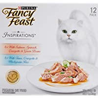 Fancy Feast Inspirations Salmon & Tuna Multipack, 24x70g