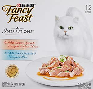 Fancy Feast Inspirations Salmon & Tuna Multipack, 24x70g