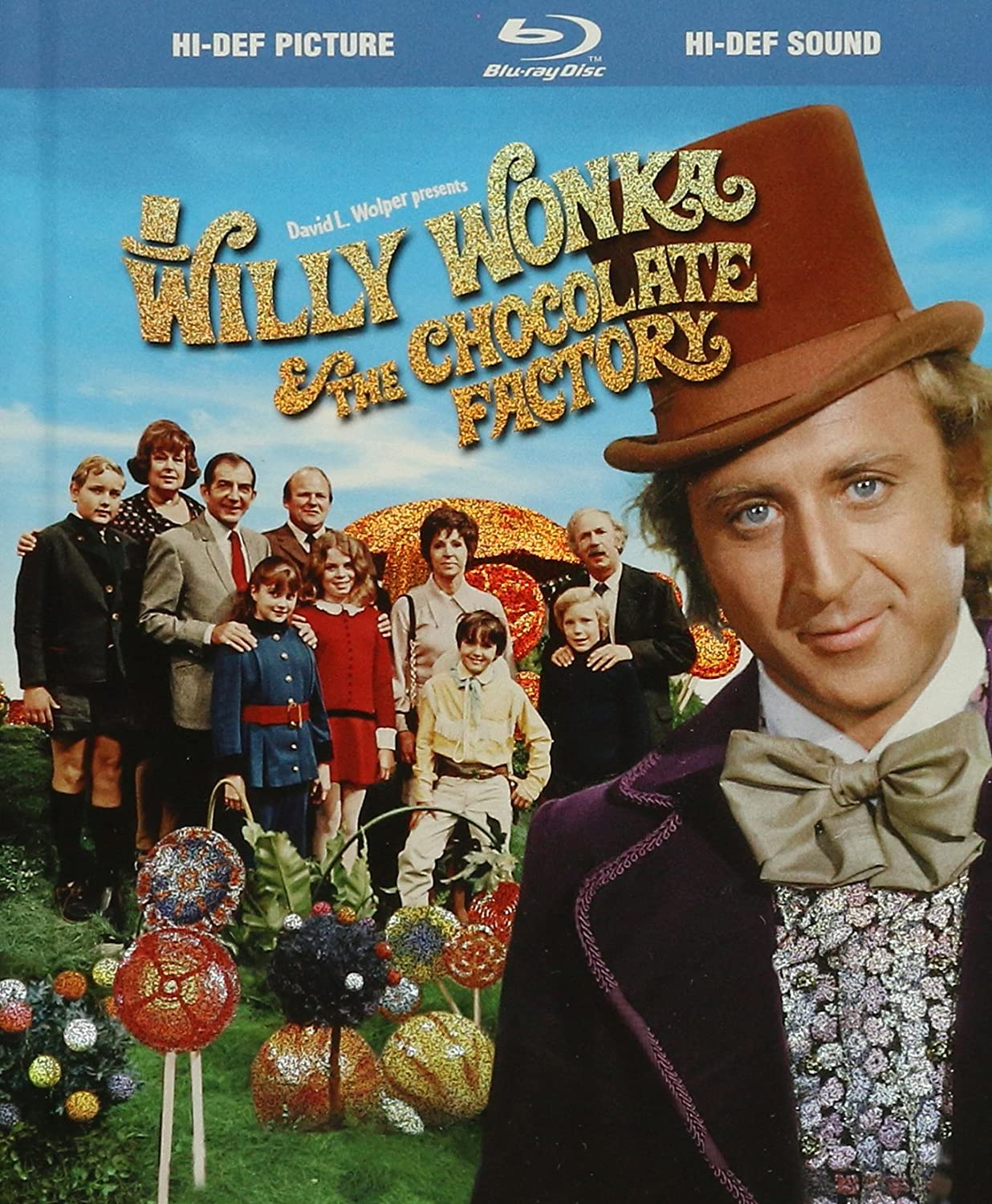 Amazon.com: Willy Wonka & the Chocolate Factory (Blu-ray Book ...