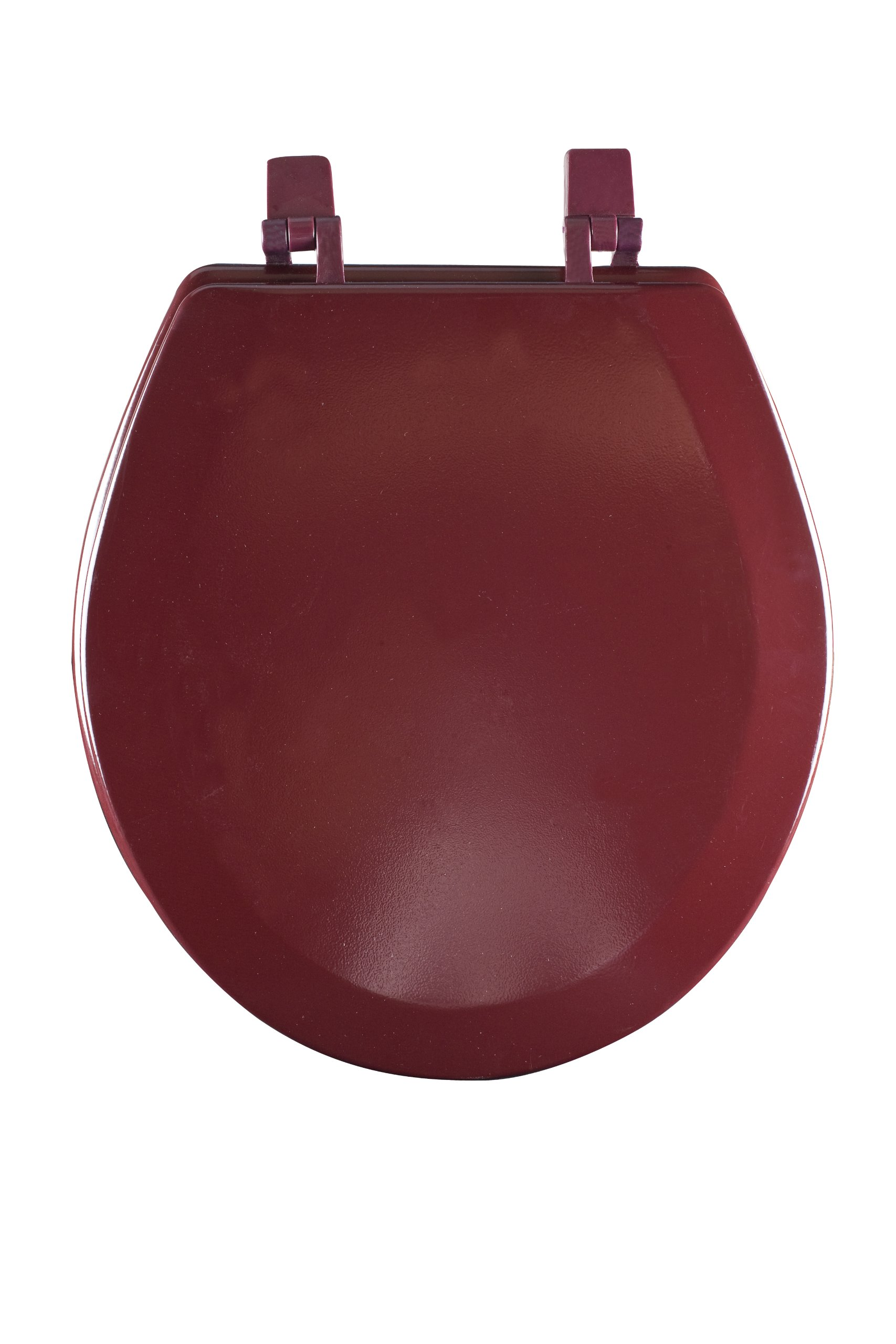 Achim Home Furnishings TOWDSTBU04 17-Inch Fantasia Standard Toilet Seat, Wood Burgundy