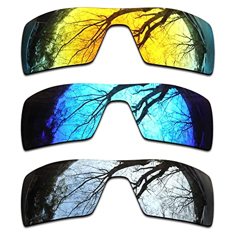 352f81a1995ad Image Unavailable. Image not available for. Color  ToughAsNails 3 Pair Polarized  Replacement Lenses for Oakley Oil Rig ...