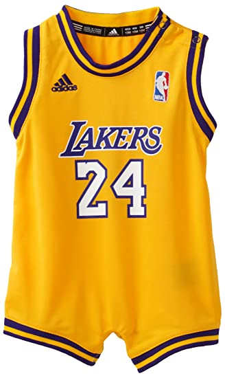 d9c60898dd3 Amazon.com: NBA Infant Los Angeles Lakers Kobe Bryant Home Onesie Jersey -  R22Uqkka (Gold, 18 Months): Clothing