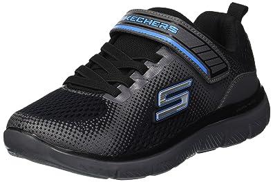 3196d67e5f79 Skechers Kids Boys  Flex Advantage 2.0-GEO Blast Sneaker Black Charcoal 1  Medium