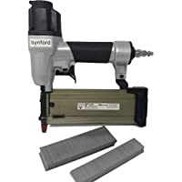 "BYNFORD 5/8"" - 2"" 21 GAUGE PIN NAILER PINNER BRADDER WITH 1000 1"" & 1000 1-9/16"" 21 GA SLIGHT HEADED BRADS"