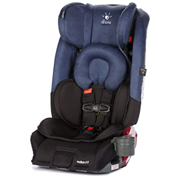Diono Radian RXT All In One Convertible Car Seat Black Cobalt