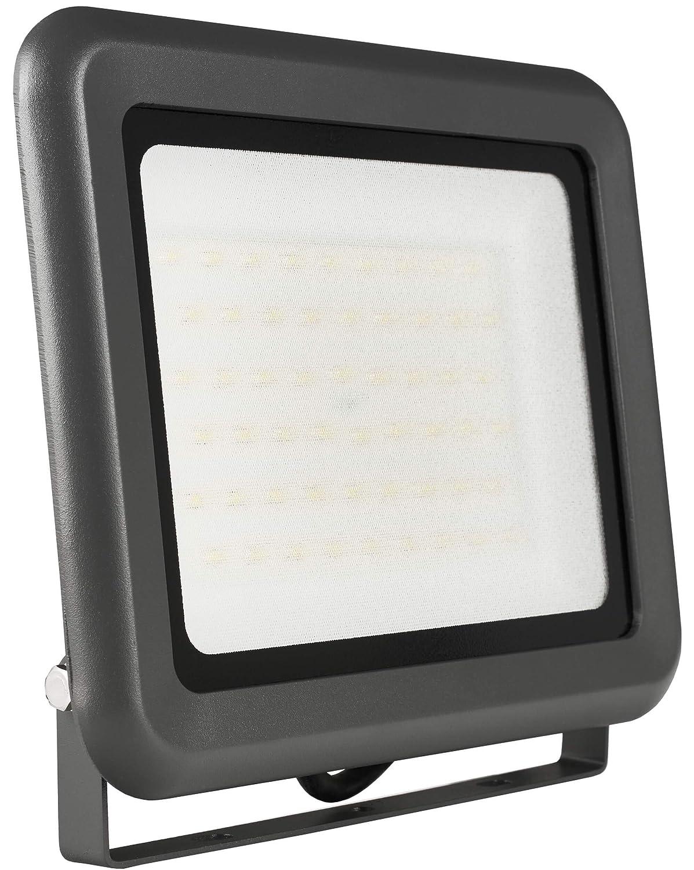 LUMIRA LED Fluter 50W, Ersatz fü r 500W Flutlicht-Strahler, Auß en-Leuchte fü r Innen- und Auß enbereich, IP65, Neutralweiß