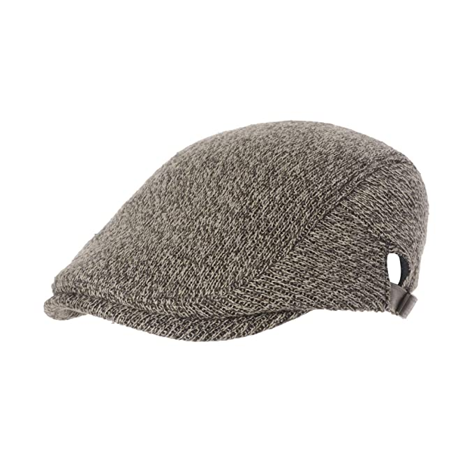 WIM Sombreros Gorras Boinas Bombines Knitted Simple Newsboy Hat ...