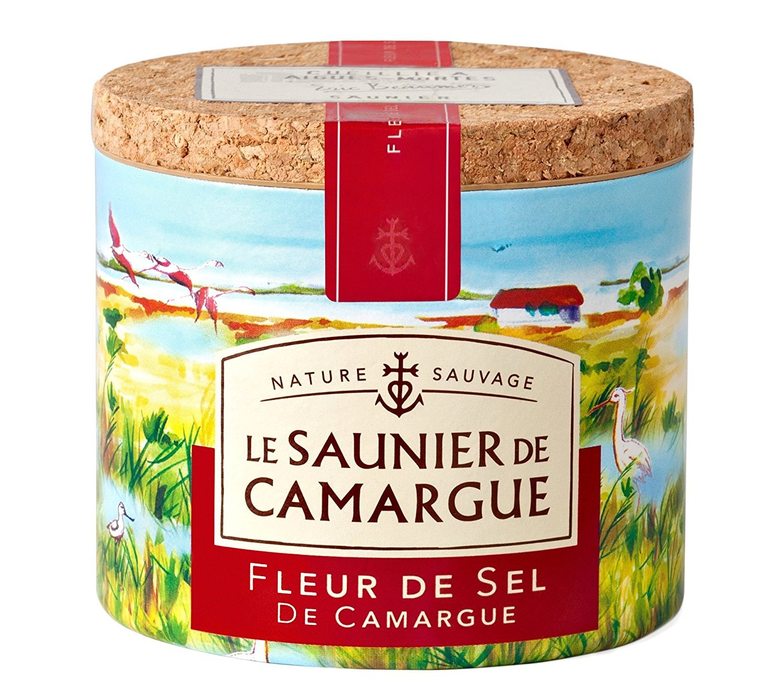 Fleur de Sel de Camargue French sea salt 125 g 4.4 oz, Three