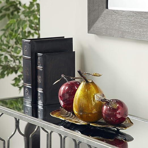 Deco 79 68134 Metal Fruit Decor, 9\