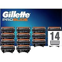 Gillette ProGlide Cuchillas de Afeitar Hombre con Tecnología FlexBall, Paquete de 14 Cuchillas de Recambio [empaque…