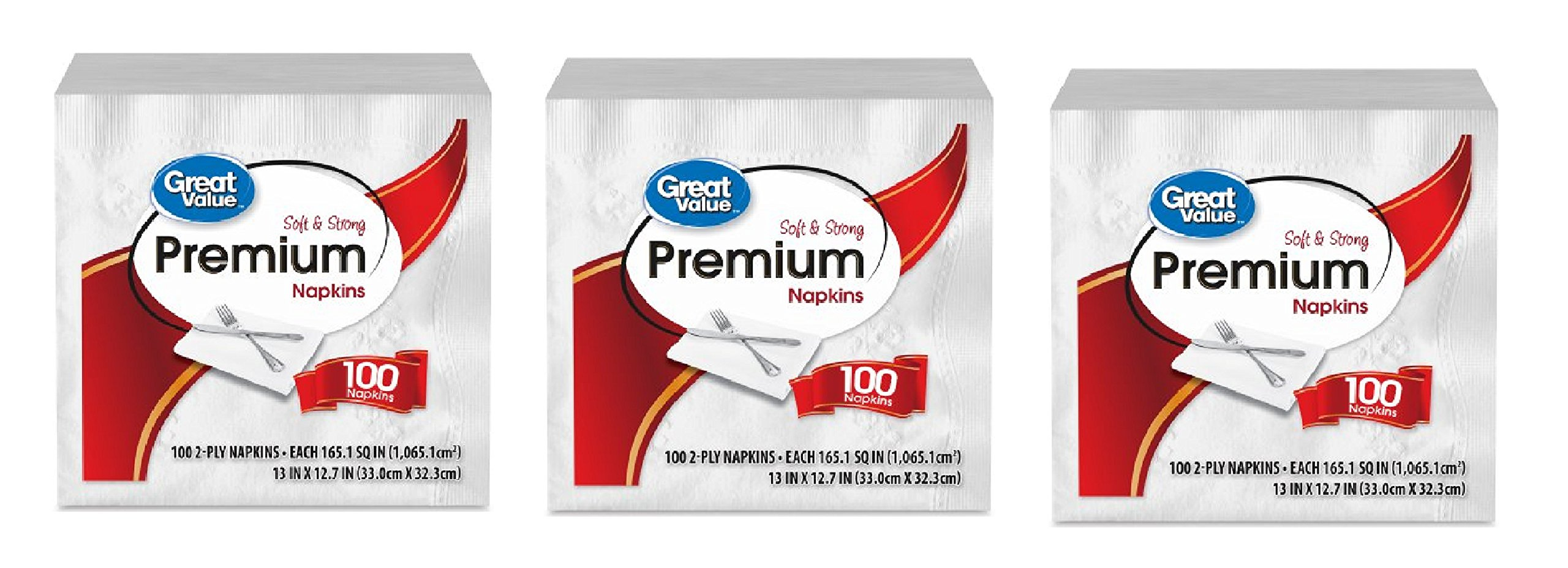 Premium Paper Napkins, 300 Count Strong Enough To Handle Any Meal Event