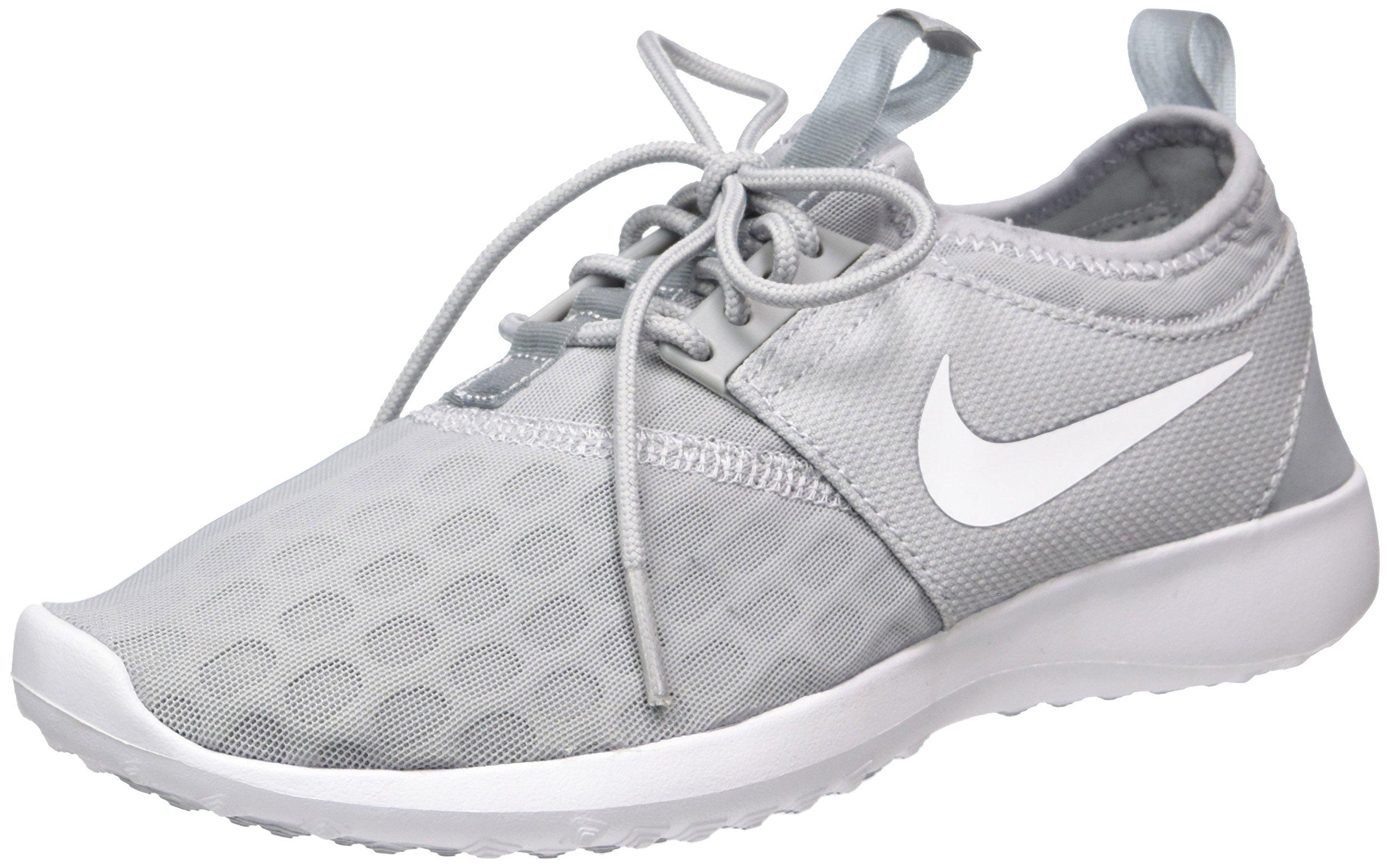 Nike Women's Juvenate Sneaker, Wolf Grey/White, 5.5 B US
