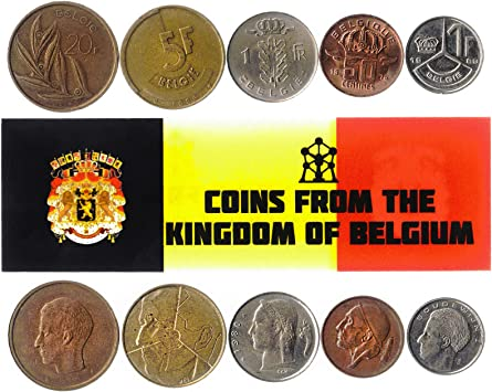 5 Monedas Diferentes - Moneda extranjera Vieja y Coleccionable de ...