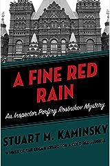 A Fine Red Rain (Inspector Porfiry Rostnikov Mysteries Book 4) Kindle Edition