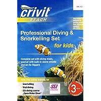 CRIVIT BEACH Kinder, die professionelle Tauchen & snorkling Set