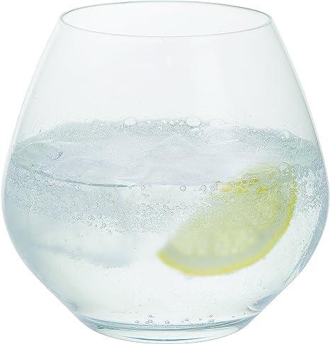 440/ml in vetro di cristallo senza piombo Bar Amigos/® bicchieri da gin e tonic bicchieri larghi confezione da 6 pezzi G/&T per cocktail e feste lavabili in lavastoviglie
