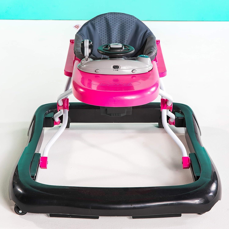 Bright Starts 3 in 1 Lauflernhilfe Ford F-151 pink