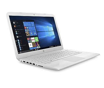 HP Stream 14-cb009na 14 Inch Laptop, (Snow White) (Intel Celeron N3060, 4  GB RAM, 32 GB eMMC, Office 365 and 1 TB OneDrive Cloud Storage, 1 Year