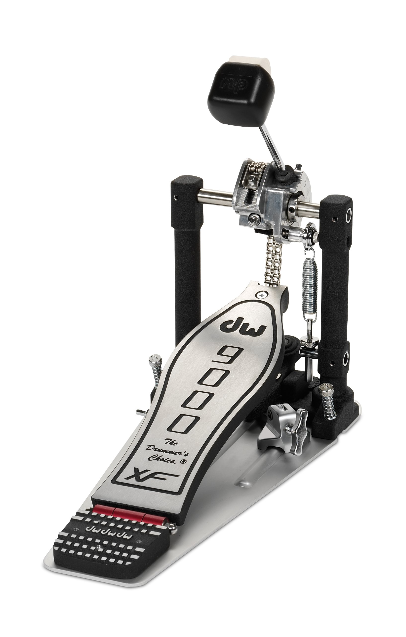 DW 9000 Single Pedal eXtended Footboard