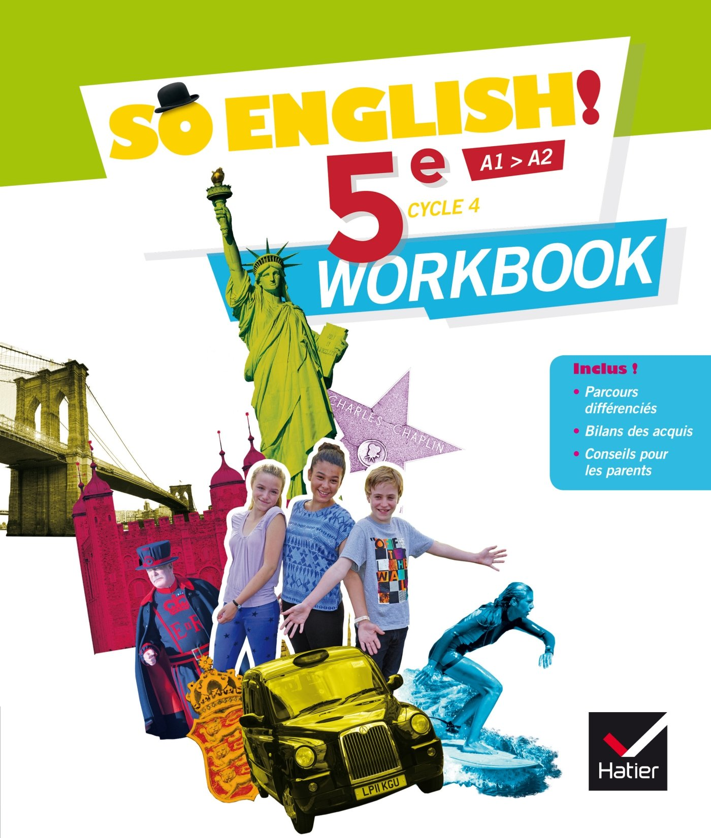 So English! - Anglais 5e Éd. 2017 - Workbook Broché – 10 mai 2017 Evelyne Ledru-Germain Célia Dagois Elisabeth Jardon Sylviane Rougier