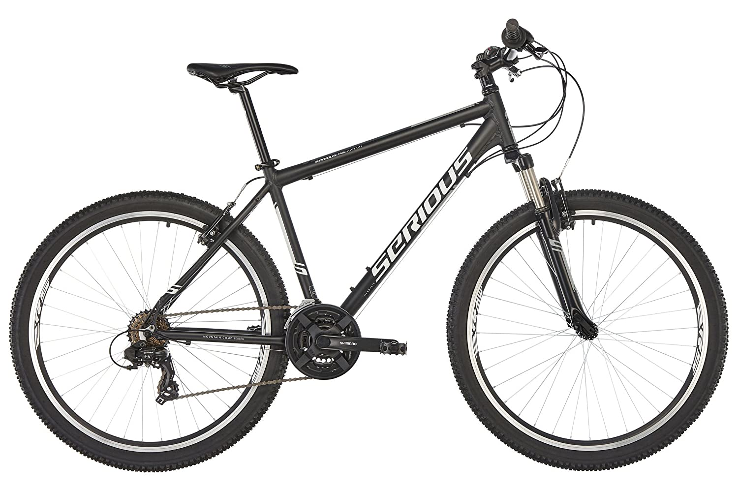 SERIOUS Rockville 27,5' Grey 2018 MTB Hardtail 5 Grey 2018 MTB Hardtail