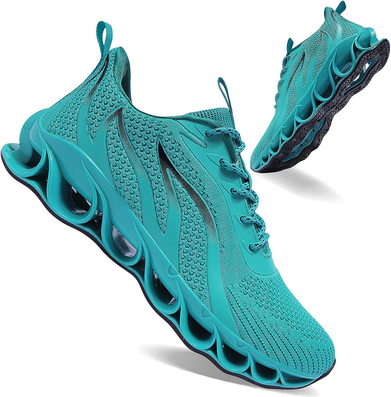   APRILSPRING Mens Walking Shoes Fashion Running Shoes Non-Slip Sports Shoes   Walking
