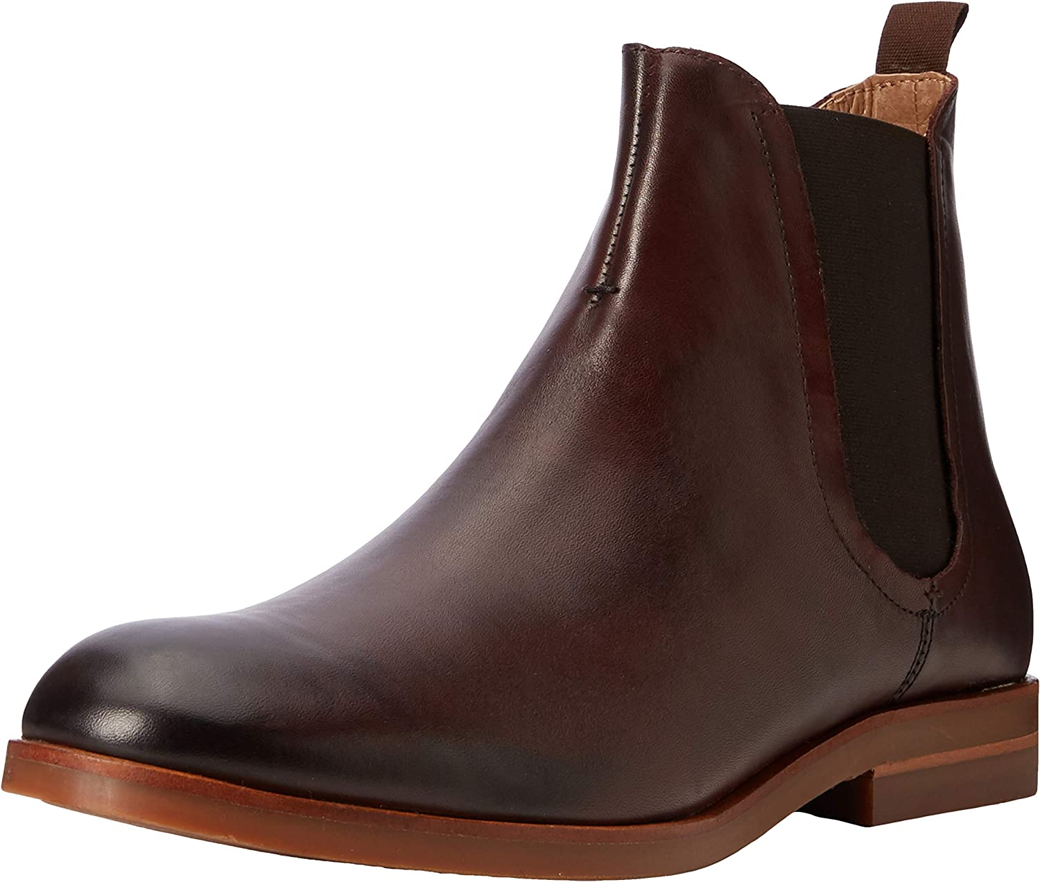 TALLA 45 EU. H by Hudson Adlington Leather, Botas Chelsea para Hombre