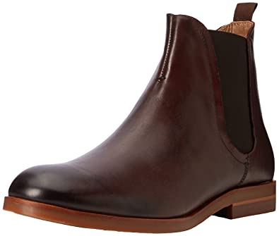 Hudson London Herren Adlington Leather Chelsea Boots, braun